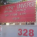 Kakic Universe Official Launch Sign Day Time