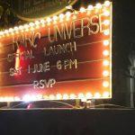 Kakic Universe Official Launch Sign Lit Up