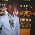 Takudzwa Vuma at the Kakic Universe Official Launch Red Carpert
